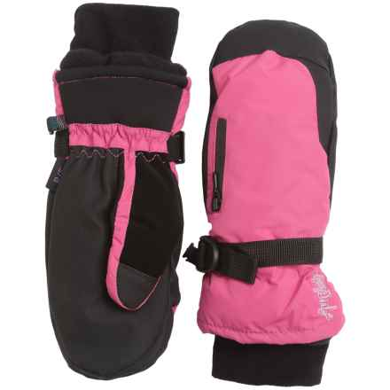 Auclair Breather Zip Mittens - Waterproof, Insulated (For Women) in Fuschia - Closeouts