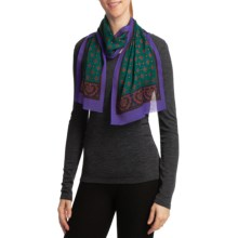 Auclair Challis Oblong Scarf (For Women) in Purple - Closeouts