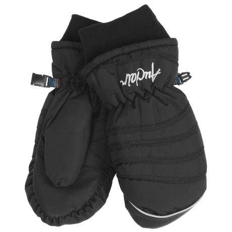 Auclair Chris Mittens - Waterproof, Insulated (For Women) in Black