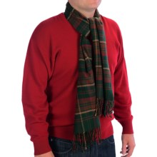 Auclair Clans Scarf - Wool Blend (For Men and Women) in Brown Clan - Closeouts