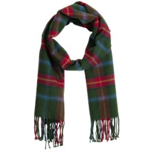 Auclair Clans Scarf - Wool Blend (For Men and Women) in Manitoba - Closeouts