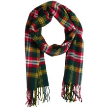 Auclair Clans Scarf - Wool Blend (For Men and Women) in Northwest Terr. - Closeouts