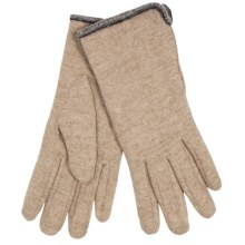 Auclair Classic Gloves - Wool Blend, Fleece Lined (For Women) in Camel - Closeouts