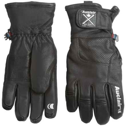 Auclair Cliff 2 Gloves (For Men and Women) in Black/Black - Closeouts