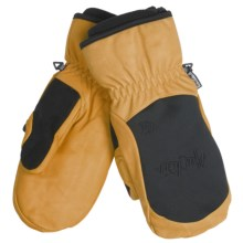 Auclair Cow Mountain Mittens - Waterproof, Thinsulate (For Men) in Black/Gold - Closeouts