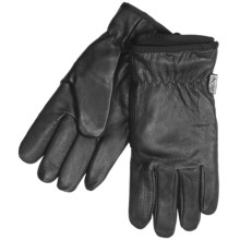 Auclair Cowhide Leather Gloves (For Men) in Black - Closeouts