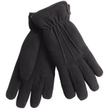 Auclair Deersuede Gloves - Thermolite® Insulated (For Women) in Black - Closeouts