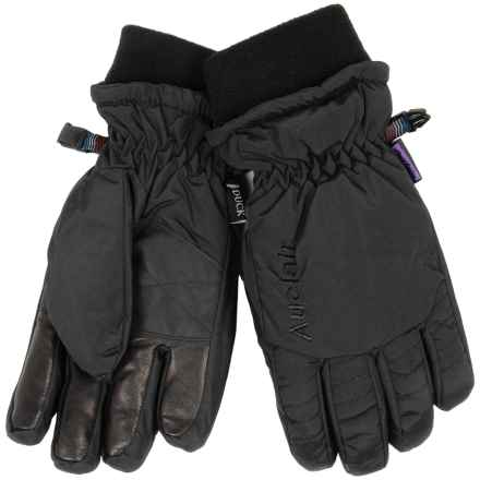 Auclair Down Gloves - Waterproof (For Women) in Black - Closeouts