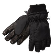 Auclair Duck Down Gloves - Waterproof, Insulated (For Men) in Black - Closeouts
