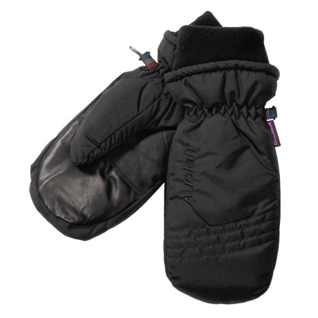 Auclair Duck Down Mittens - Waterproof, Insulated (For Women) in Black