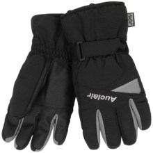 Auclair Edge Gloves - Waterproof, Insulated (For Men) in Black/Grey - Closeouts
