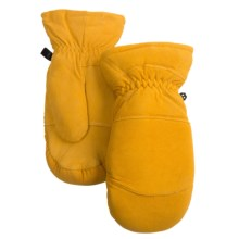 Auclair Elk Suede Mittens - Removable Liner (For Men) in Yukon Gold - Closeouts