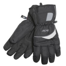 Auclair Flash Gloves - Waterproof, Insulated (For Men and Women) in Black/White - Closeouts