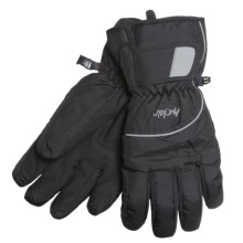 Auclair Flash Gloves - Waterproof, Insulated (For Men and Women) in Black - Closeouts