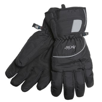 Auclair Flash Gloves - Waterproof, Insulated (For Men and Women) in Black