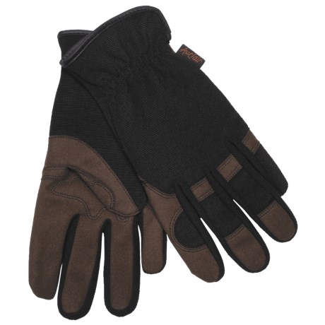 Auclair Garden Girl Gloves - Protective Palm (For Women) in Black
