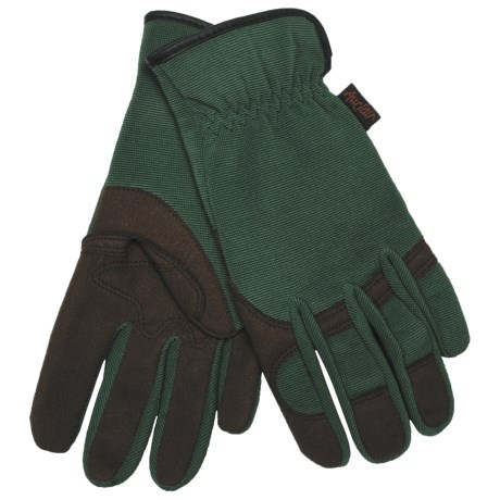 Auclair Garden Girl Gloves - Protective Palm (For Women) in Green