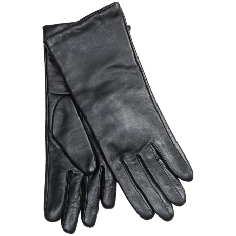 Auclair Glace Leather Gloves - Cashmere Lining (For Women)