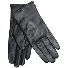 Auclair Glace Thinsulate® Leather Gloves - Insulated (For Women) in Black - Closeouts