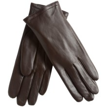 Auclair Glace Thinsulate® Leather Gloves - Insulated (For Women) in Dark Brown - Closeouts