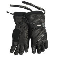 Auclair Gloves - Waterproof, Insulated (For Men and Women) in Black/Black - Closeouts