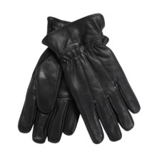 Auclair Goatskin Gloves - Thinsulate®, Palm Patch (For Men) in Black - Closeouts