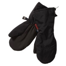 Auclair Grippy Zippy Dritex Mittens - Waterproof (For Toddlers) in Black - Closeouts