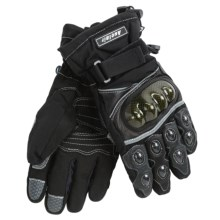 Auclair Hardhand Strapper Gloves - Waterproof, Insulated (For Men) in Black/Black - Closeouts