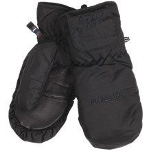 Auclair Heated Mittens - Waterproof, Insulated (For Men) in Black/Black Logo - Closeouts