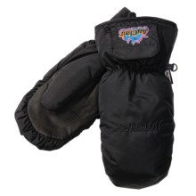 Auclair Heated Mittens - Waterproof, Insulated (For Men) in Black/Multi Logo - Closeouts