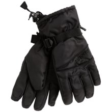 Auclair Idaho Ski Gloves - Waterproof, Insulated (For Men) in Black/Black - Closeouts