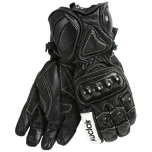 Auclair Knuckle Rocket Gloves - Leather, Insulated (For Men) in Black/Black - Closeouts