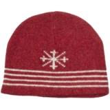 Auclair Kodiak Ragg Skipole Beanie Hat - Lambswool, Fleece Lining (For Men and Women)