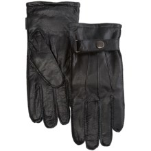 Auclair Leather Gloves (For Men) in Black - Closeouts
