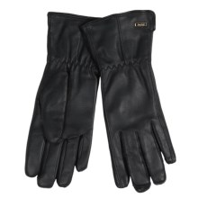 Auclair Leather Gloves - Insulated, Fleece Lined (For Women) in Black - Closeouts
