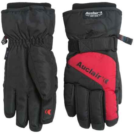 Auclair Low Orbit 3 Gloves - Waterproof, Insulated (For Women) in Black/Burnt Red - Closeouts