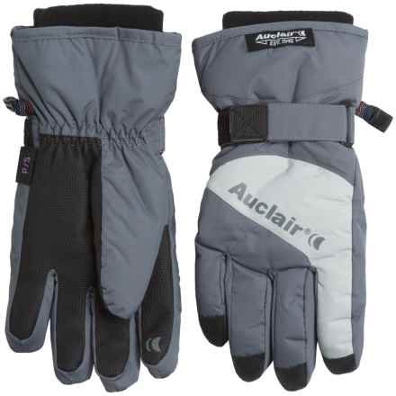 Auclair Low Orbit 3 Gloves - Waterproof, Insulated (For Women) in Dark Grey/Light Grey - Closeouts