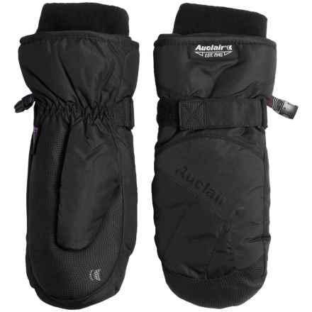 Auclair Low Orbit 3 Mittens - Waterproof, Insulated (For Men) in Black/Black - Closeouts