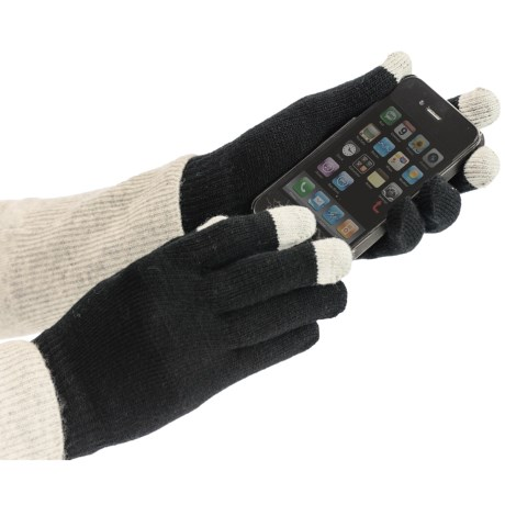 Auclair Magic Texting Gloves - 2 Pair (For Women) in Black