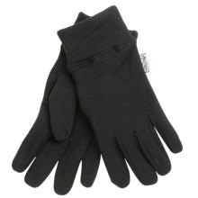 Auclair Malden Glove Liners (For Men) in Black - Closeouts