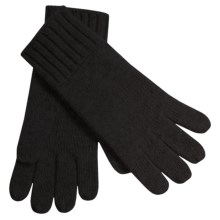 Auclair Merino Wool Gloves (For Men) in Black - Closeouts