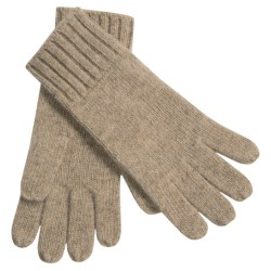Auclair Merino Wool Gloves (For Men) in Camel