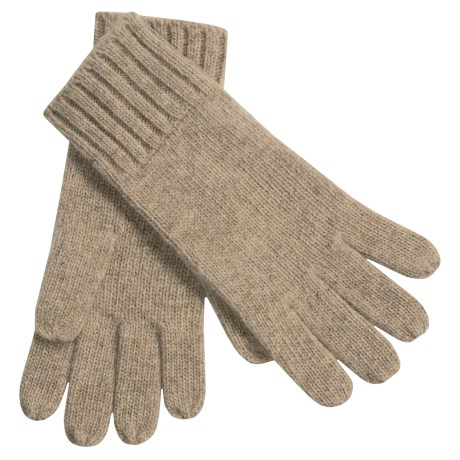 Auclair Merino Wool Gloves (For Men) in Black