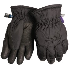Auclair Micro Mountain Gloves - Fleece Lining, Insulated (For Women) in Black - Closeouts
