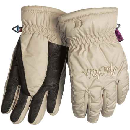 Auclair Micro Mountain Gloves - Fleece Lining, Insulated (For Women) in Camel - Closeouts