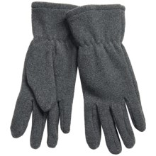 Auclair Microfleece Gloves (For Women) in Charcoal - Closeouts