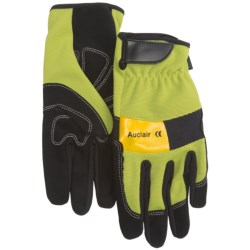 Auclair Multi-Purpose Work Gloves (For Men) in Lime/Black