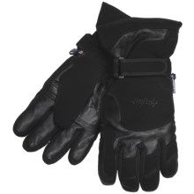 Auclair New Wave Gloves - Waterproof, Insulated (For Men) in Black - Closeouts