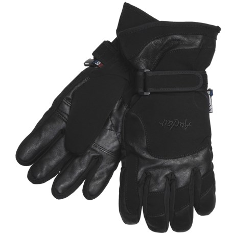 Auclair New Wave Gloves - Waterproof, Insulated (For Men) in Black