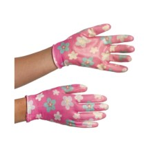 Auclair Nitrile Garden Gloves - Printed (For Women) in Cinderella Rose - Closeouts